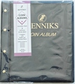 RENNIKS Coin Album with 6 Coin Album Pages