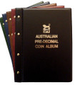 VST AUSTRALIAN PRE-DECIMAL 1910-1964 COIN ALBUM with Mintages