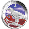 2013 $1 Willandra Lakes National Park Sydney ANDA Show 1oz Silver Proof