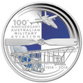 2014 $1 100 Years of Australian Military Aviation 1oz Silver Proof