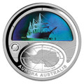 2009 $5 Fine Silver Proof Hologram Coin International Polar Year