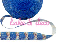 Frozen Elsa Ribbon 25mm