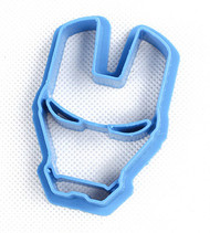 Iron Man's Helmet Fondant/Cookie Cutter