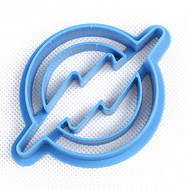 The Flash Logo Fondant/Cookie Cutter