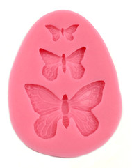Small Butterflies Silicone Mould 3 Sizes