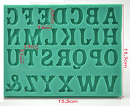 Circus Letter Font Silicone Mold