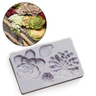 Cactus Flowers Silicone Mould