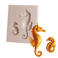 Seahorse Silicone Mould 2pc