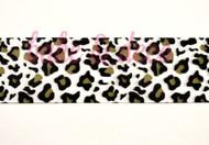 Leopard Print Ribbon 40mm