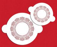 Designer Stencils Doily Round Set sw100