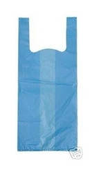 1000 Pet Waste Dog Poop Bags with Handles (BLUE)