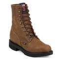 Justin, Cargo Brown Steel Toe,  795