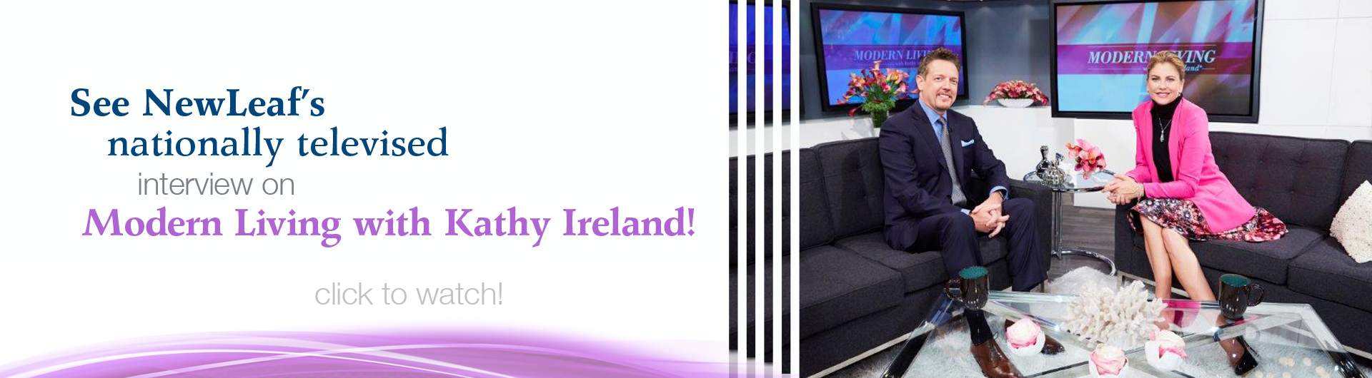 Watch our Kathy Ireland interview!