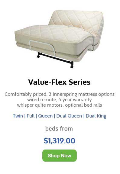 Image of the Value-Flex Series of Flex-A-Bed Adjustable Beds