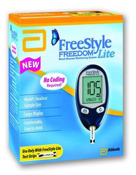 FreeStyle Freedom Lite Blood Glucose Monitoring System 2