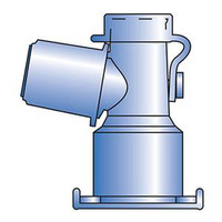 Standard Dual-Axis Swivel Adapters - Angled 15 mm Termination, Non-Sterile