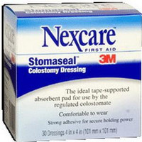 "Stomaseal Colostomy Dressing, 4"" x 4"" (Box of 30)"