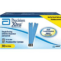 Precision Xtra Blood Glucose Test Strips (Box of 50)