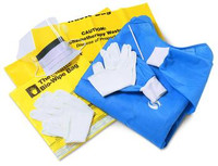 ChemoBloc Spill Kits - XX-Large Gown, Medium Gloves
