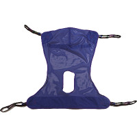 Invacare Full Body Patient Lift Sling with Commode Opening, Mesh Polyester
