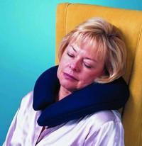 Buckwheat Crescent Pillow