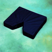 "Briggs Coccyx Seat Cushion 16"" x 18"" x 3"" with Navy Cover"
