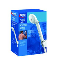 Carex Health Brands Hand Held Shower Spray With On/Off Valve