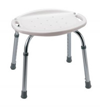 "Carex Adjustable Bath and Shower Seat - 17""W x 16 1/2""D x 13 1/2""H"