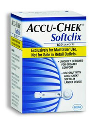 Accu-Chek Softclix Lancets (Box of 100)