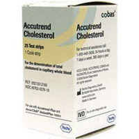 Accutrend Cholesterol Test Strips