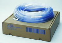 "Medi-Vac Clear Nonconductive Suction Tubing - 100' x 1/4"" (6 mm), Connector Every 6"", Non-Sterile (Case of 100)"