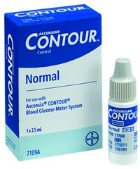 Bayer s Contour Normal Control Solution - High