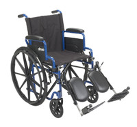 "Drive Blue Streak Wheelchair with Flip Back Desk Arms - 16"", 18"" & 20"" Seats"
