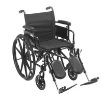 "Cruiser X4 Lightweight Dual Axle Wheelchair - 16"", 18"" or 20"" Seat"