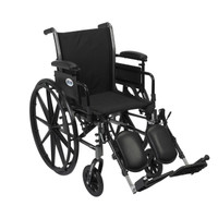 "Cruiser III Light Weight Wheelchair - 16"", 18"" & 20"" Seat"