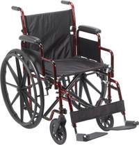 "Drive Rebel Lightweight Wheelchair - 18"" x 16"" Seat"