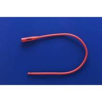 Rusch Robinson Nelaton Straight Red Rubber Catheter Sterile
