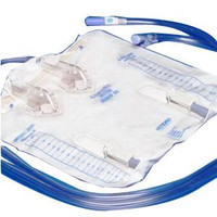 Curity Drainage Bag without Anti-Reflux Device, 4000 mL