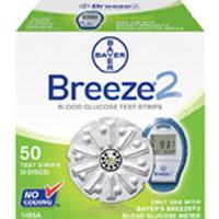 Bayer's Breeze 2 Blood Glucose Test Strips