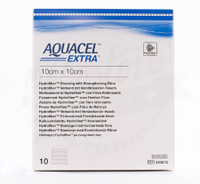 "Aquacel Extra Hydrofiber Wound Dressing - 2"" x 2"" and 6"" x 6"""