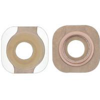 """New Image FlexWear Flat Skin Barrier, Pre-Cut, Tape Border, 1-3/4"""" Flange"""