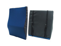 "General Use Back Cushion with Lumbar Support - 22""W x 19""L x 2.5""D"
