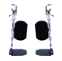 Invacare Hemi Elevating Legrest, Composite with Padded Calf Rest