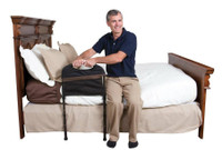 """Stander Stable Bed Rail, 18""""W, 31"""" to 44"""" Adjustable Height"""