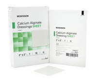 "Calcium Alginate Dressing McKesson 2"" x 2"" and 4"" x 4"" Sizes"