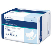 Wings Ultra Incontinent Brief Tab Closure Heavy Absorbency