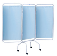 Winco Privess Basic 3-Panel Steel Frame Folding Screen