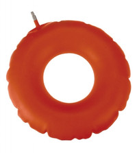 "Inflatable Rubber Ring, Inflatable, 16"" D"