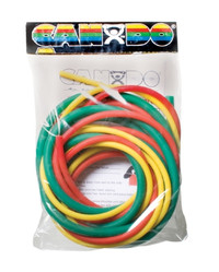 CanDo Low Powder PEP Exercise Tubing, 6' (Easy Resistance)
