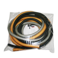 CanDo Low Powder PEP Exercise Tubing, 6' (Challenging Resistance)